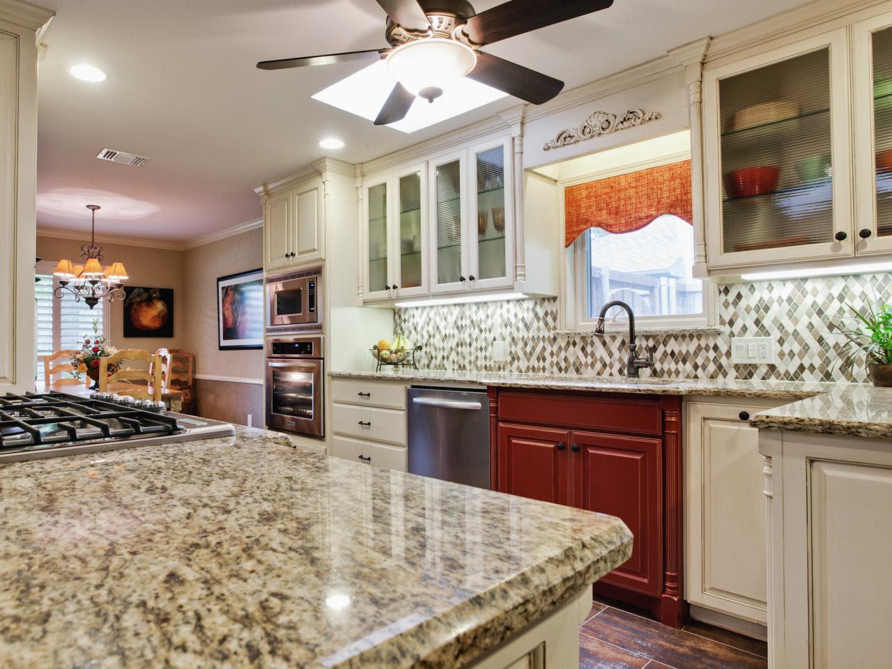 Pictures Granite Kitchen Countertop Granite with Backsplash