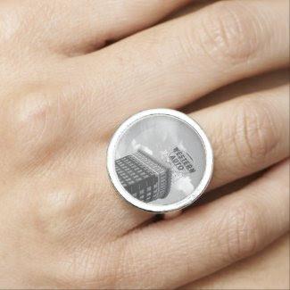 Western Auto Half Cylinder Building Ring