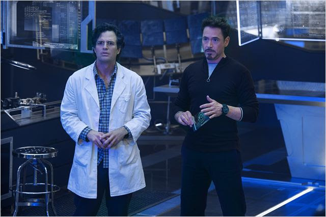 Os Vingadores 2: A Era de Ultron : Foto Mark Ruffalo, Robert Downey Jr.