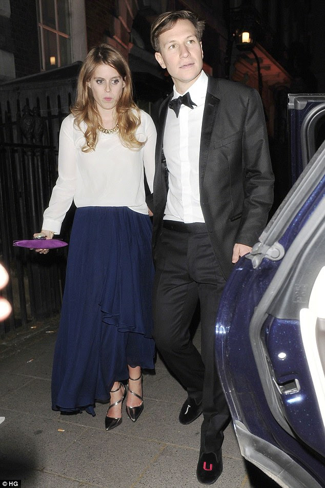 Princess Beatrice split with her long-term love Dave Clark earlier this month