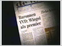 Wiegel always wanted it