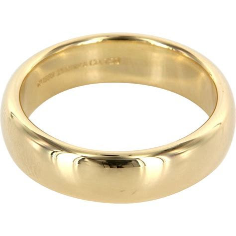 Estate Designer Tiffany & Co 18 Karat Yellow Gold Lucida
