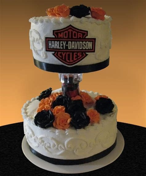 harley davidson wedding cake   Halloween. This cake was