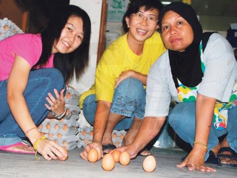 Hari telur berdiri atau Lup Choon: Fenomena telur berdiri masih misteri