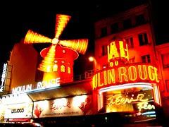 Moulin Rouge, Paris, France