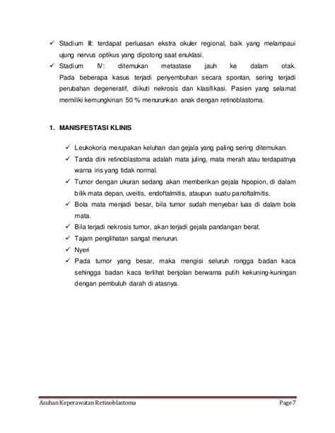 ASKEP RETINOBLASTOMA PADA ANAK PDF