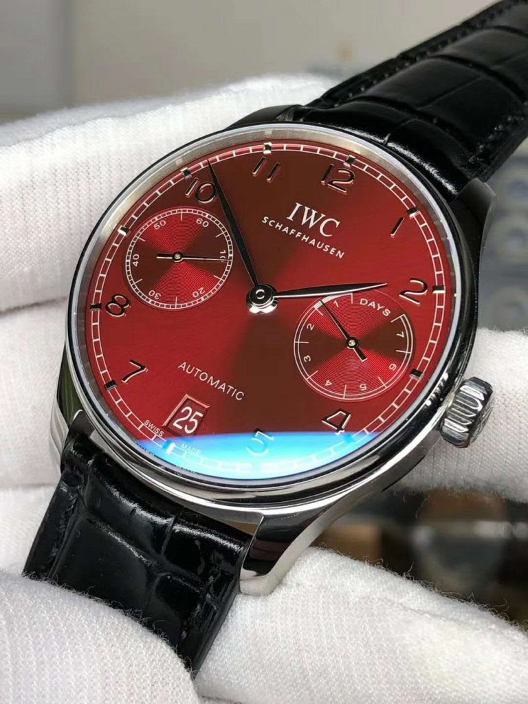 Replica IWC Portuguese Red Dial
