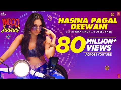 Hasina Pagal Deewani Lyrics -Mika Singh /Asees Kaur