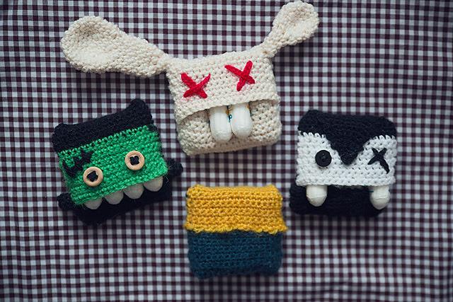 Sac à tampons crocheté Tampon bag par Franziska Ritter