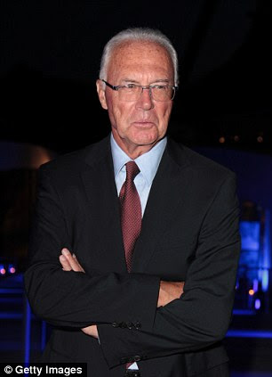 Defensive: Bayern Munich legend Franz Beckenbauer was uncomplimentary on Guardiola's tactics