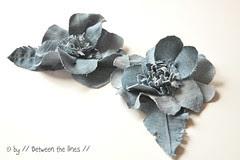 denim flowers :: a DIY