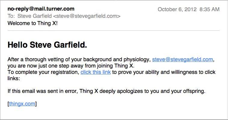 Hello Steve Garfield