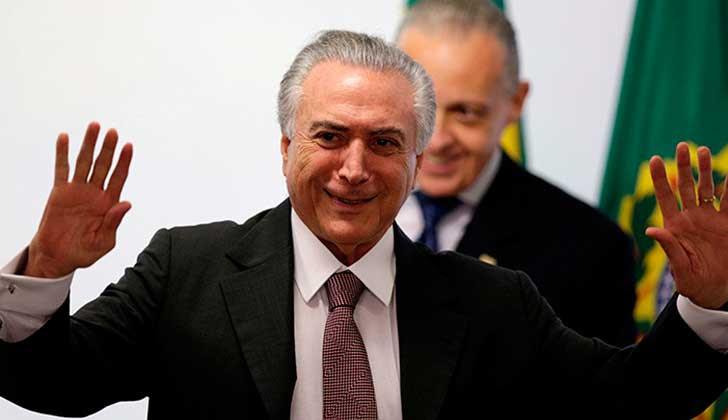 Asesor de Temer renuncia tras escándalo de corrupción.