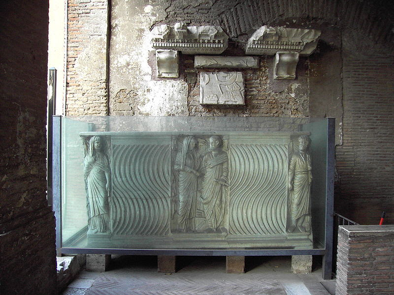Fil: San Saba 09 - sarcofago.JPG