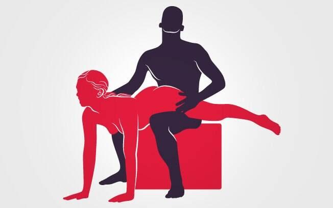 52. INVASORA: Com as duas mãos apoiadas no chão ela se encaixa nele, que deve estar sentado em uma cadeira . Foto: Renato Munhoz (Arte iG)