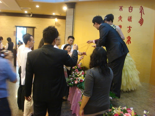 New version of Tossing Bouquet