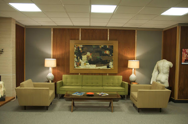 TV Show Set: Mad Men Interior Designs | InteriorHolic.