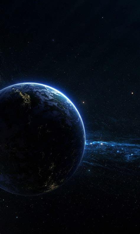 dark space planet blackberry wallpapers hd mobile