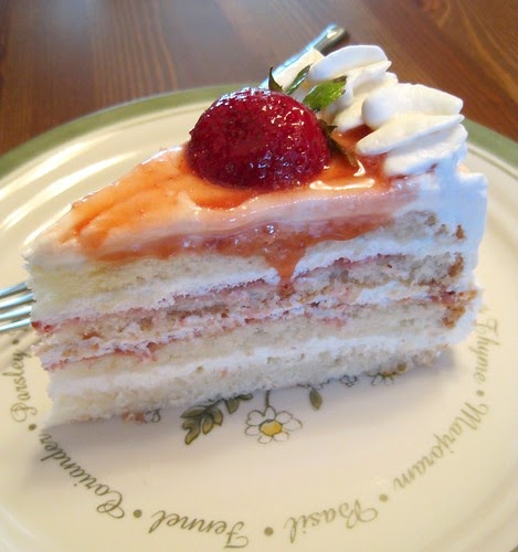 Layer Cake With Whipped Cream And Coulis Recipe