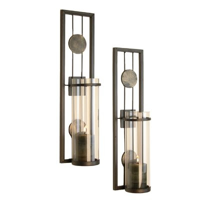 Zingz & Thingz Contemporary Candle Sconce | Wayfair