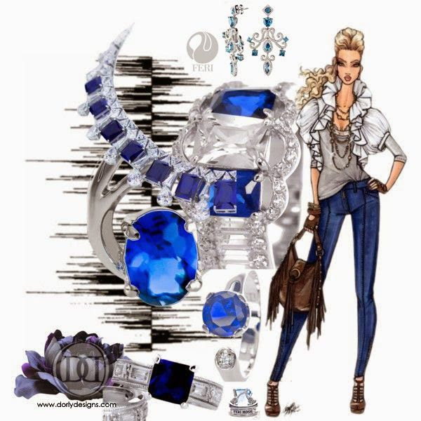 DORLY DESIGNS: Hot Trend: Dazzling Blue Top Fashion Colour For Spring 2014
