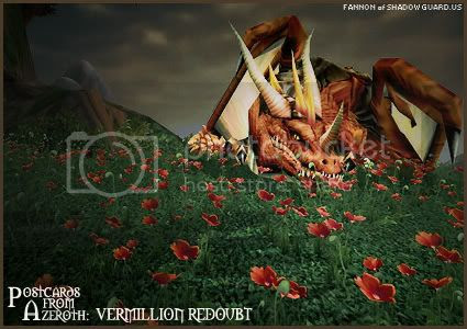 Postcards of Azeroth: Vermillion Redoubt, submitted by Fannon of Shadowguard-US