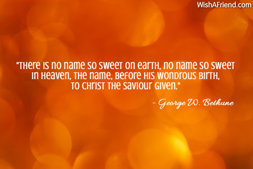 There Is No Name So Sweet Merry Christmas Quote