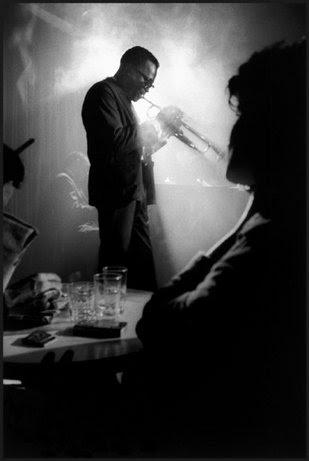 Miles Davis, Birdland, New York City, 1958. © Dennis Stock / Magnum Photos