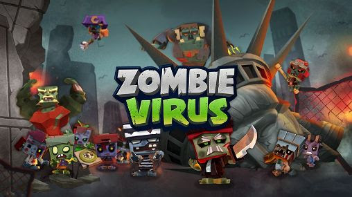 Screenshots of the Zombie virus for Android tablet, phone.