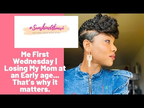 Me First Wednesday is Dedicated to My Mom!