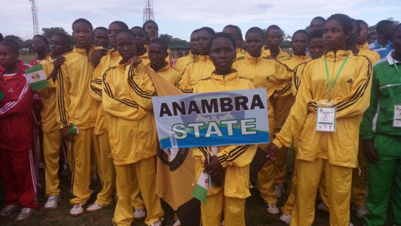 Team Anambra Wins 18 Medals In 10 Events At National Youth Games In UNILORIN