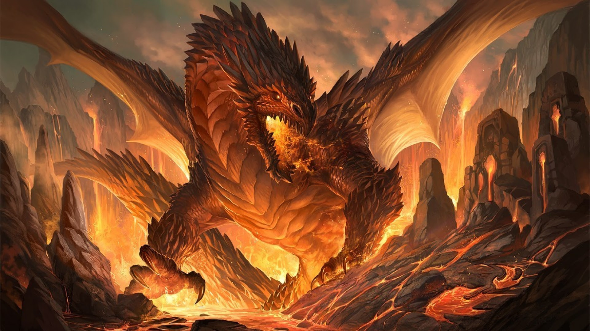 Wizards And Dragons Wallpapers 65 Images