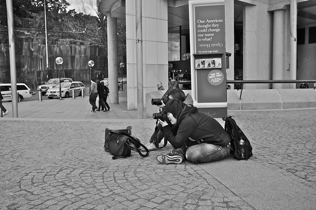 Action photographers