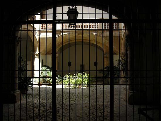 Palma de Mallorca, patio (belső udvar)