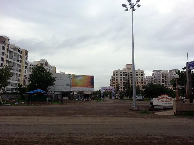Vijayadashami Dasara Chowk a.k.a. Elite Chowk Balewadi - Visit Kunal Aspiree, 2 BHK & 3 BHK Flats at Balewadi, Pune, India