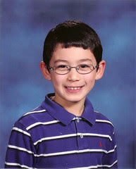 Adam school portrait 1st grade