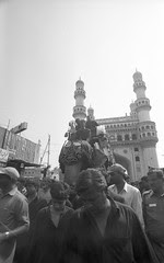 Bibi Ka Alam at Charminar Ashura Hyderabad 2004 by firoze shakir photographerno1