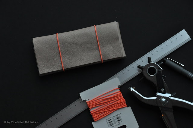 No-sew Leather Pencil Case