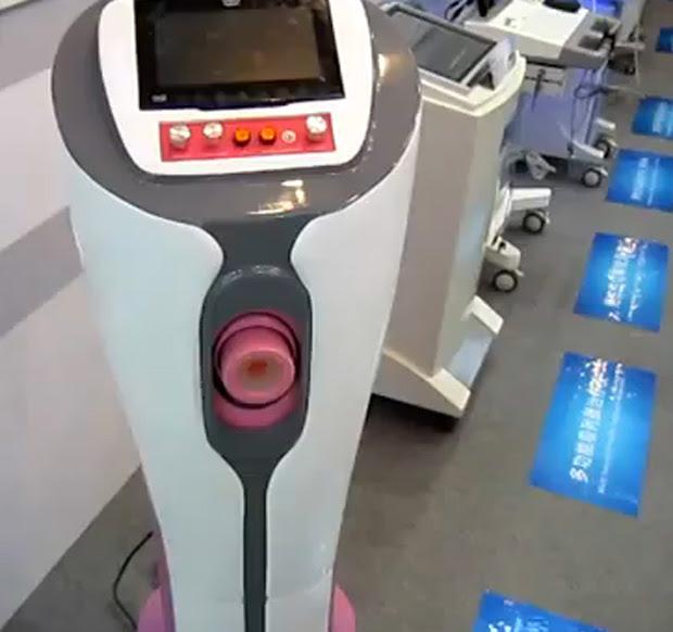 Máquina chinesa pode ser usada em bancos de sêmen (Foto: Divulgação)