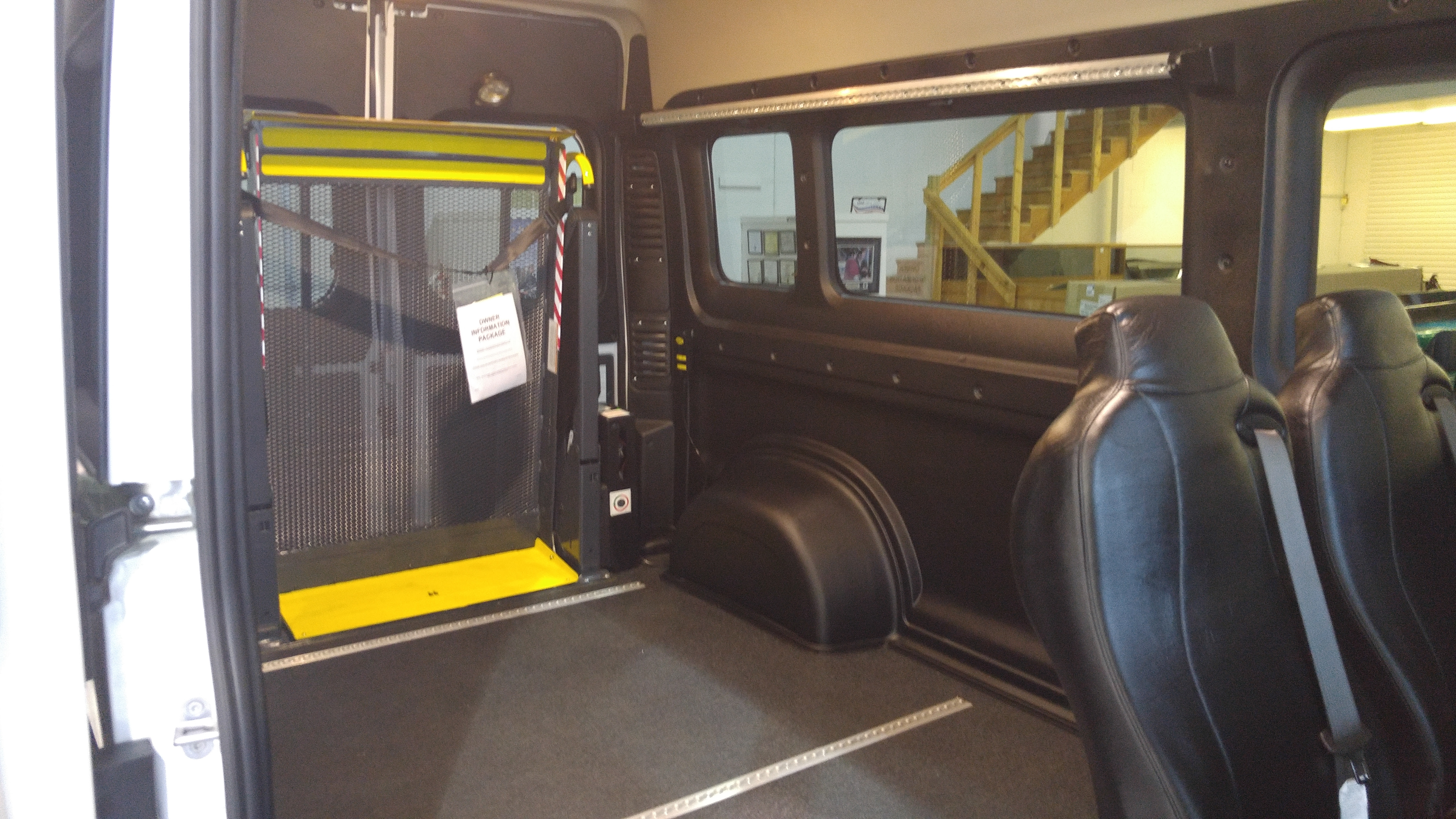 Full Size Wheelchair Accessible Van Conversions Sidewinder