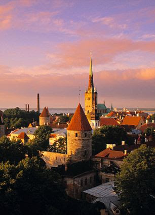 Estonia: Tallinn is the capital of Estonia, the most northern of the Baltic states