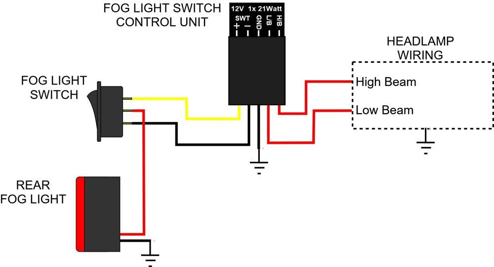 Fog Light Switch Control Unit