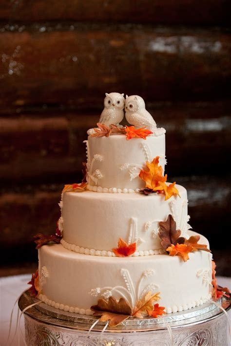 Best 25  Fall wedding cakes ideas on Pinterest   Rustic