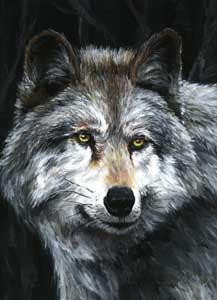 Acrylic painting.©1998 Sandy Allnock