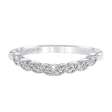 ArtCarved Diamond Wedding Band 14K   31 V309W L   Ben