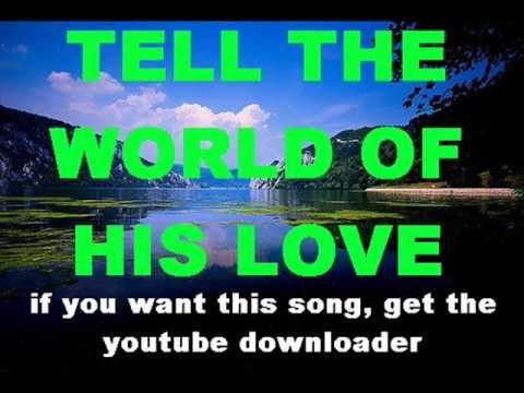 For God So Loved The World Lyrics Jamie Rivera