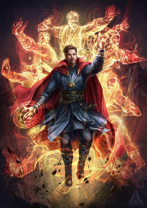 avengers infinity war doctor strange marvel fanart