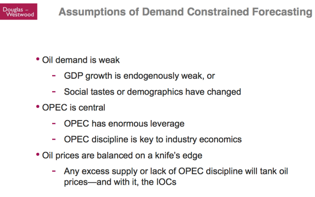 Kopits 10 Assumptions of Demand Constrained Forecasting