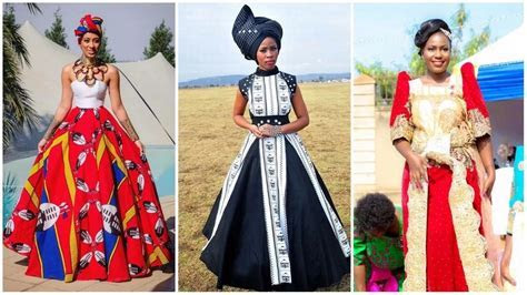 Awesome Swazi Wedding Dresses   AxiMedia.com