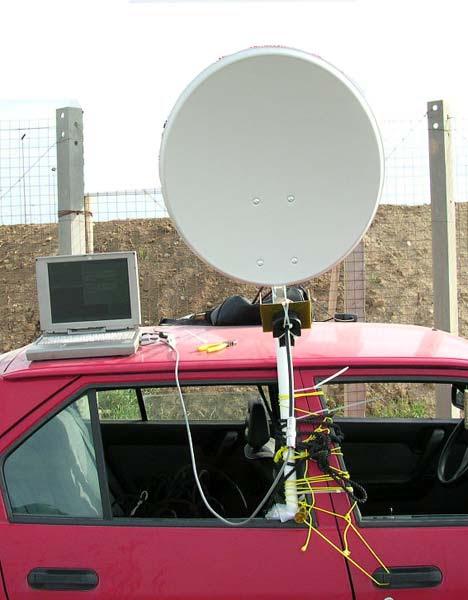 Alarme monitorado por satélite